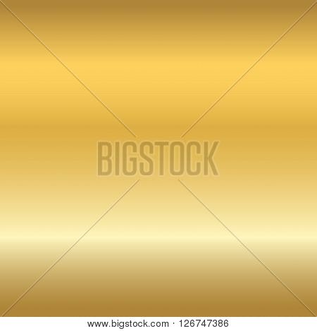 Gold texture seamless pattern. Light realistic shiny metallic empty golden gradient template. Abstract metal decoration. Design for wallpaper background wrapping fabric etc. Vector Illustration.