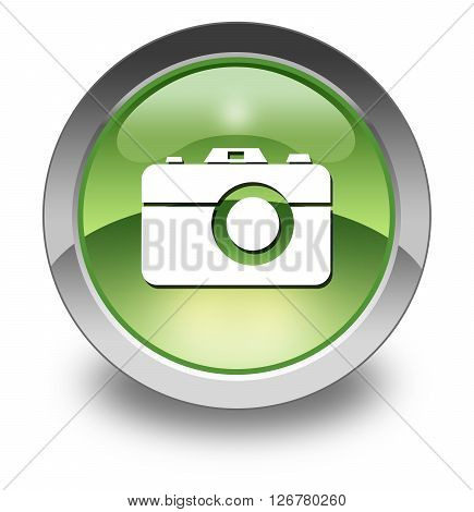 Image Photo Icon Button Pictogram with Camera symbol