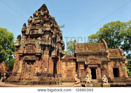 Tempel Banteay Srei In Angkor Wat