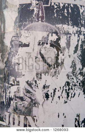 Background -Worn Poster