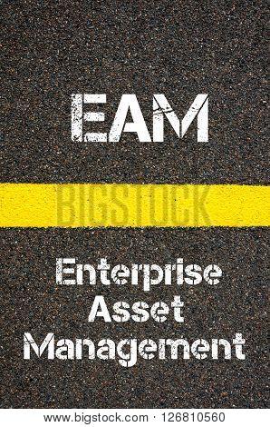 Business Acronym Eam Enterprise Asset Management