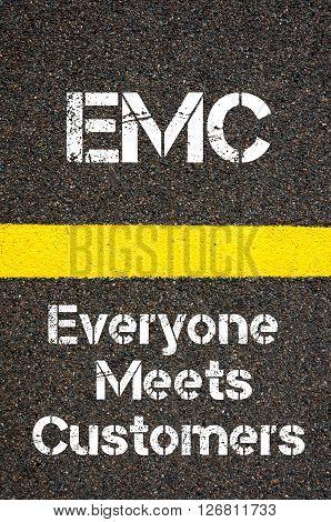 Business Acronym Emc Everyone Meets Customers