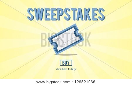 Sweepstakes Lottery Lucky Surprise Risk Concept