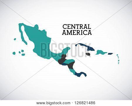 central america design, vector illustration eps10 graphic
