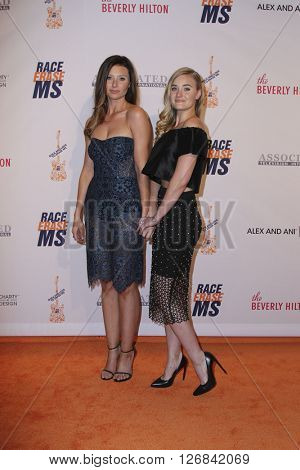 LAS VEGAS - APR 15:  Aly Michalka, AJ Michalka at the  23rd Annual Race To Erase MS Gala at the Beverly Hilton Hotel on April 15, 2016 in Beverly Hills, CA