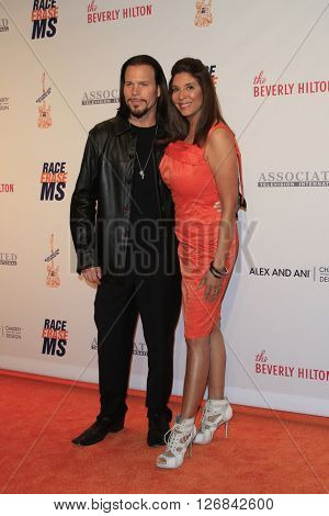 LAS VEGAS - APR 15:  Christine Divine, Sean McNabb at the  23rd Annual Race To Erase MS Gala at the Beverly Hilton Hotel on April 15, 2016 in Beverly Hills, CA