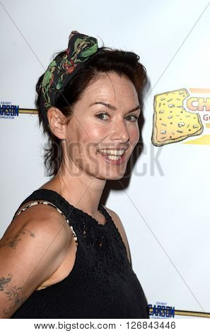 LAS VEGAS - APR 17:  Lena Headey at the Milk + Bookies Story Time Celebration at the California Market Center on April 17, 2016 in Los Angeles, CA