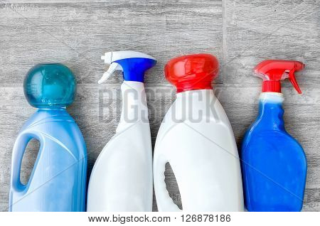 detergents fabric softeners and liquid doser scoop for washing clothes
