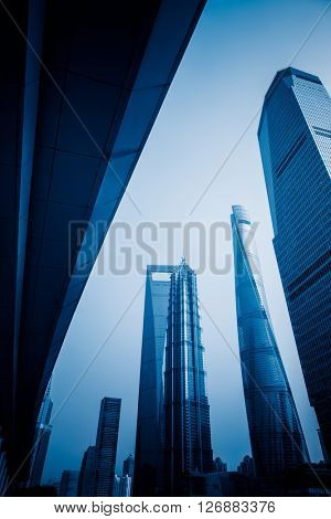 Shanghai Tower, world Financial Center and Jin Mao Tower,tallest buildings in shanghai