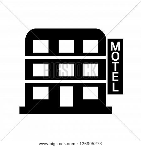 an images of Motel icon Illustration design
