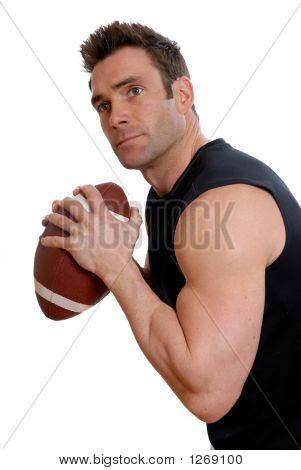 Fußball Athlet