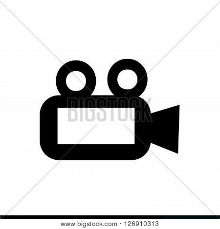 an images of Video Camera Icon Illustration design
