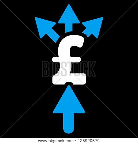 Share Pound Payment vector icon. Share Pound Payment icon symbol. Share Pound Payment icon image. Share Pound Payment icon picture. Share Pound Payment pictogram. Flat share pound payment icon.