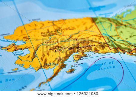 Alaska On The Map