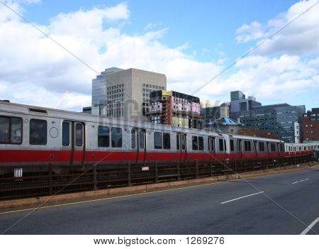 Boston Subway Train