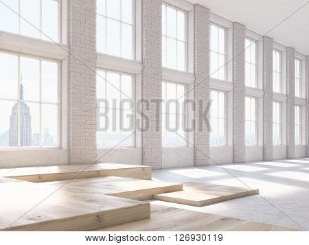 Brick Interior Side