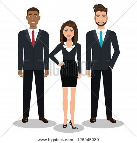 busines people design, vector illustration eps10 graphic