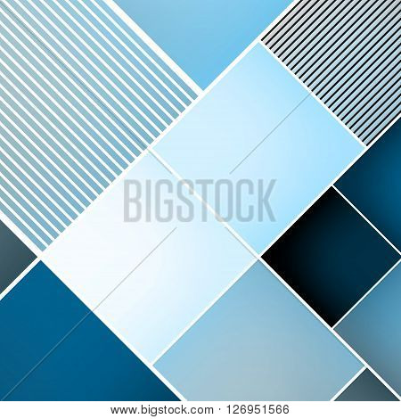 Business Brochure Cover Design Template. Vector Illustration