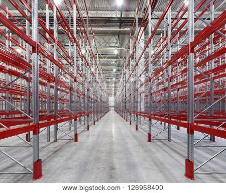 Racks pallets shelves. warehouse  shelving  pallet equipment