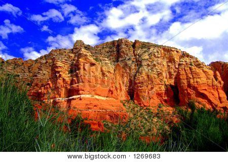 Red Rock Monolith
