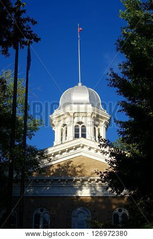 The Nevada State Capitol building has been a landmark in Carson City since 1871 and it features several domes.