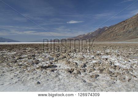 Bad Water Basine in Death Valley (USA)