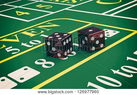 Gambling, Craps Game