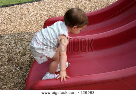 Baby Girl Slide