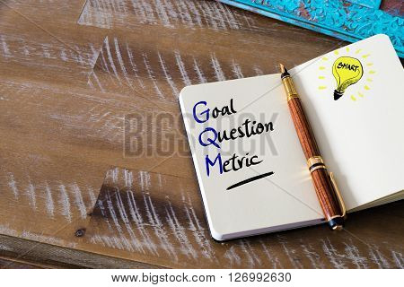 Business Acronym Gqm Goal Question Metric