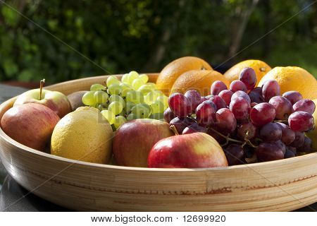fruit on a table