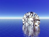 Diamond reflections poster