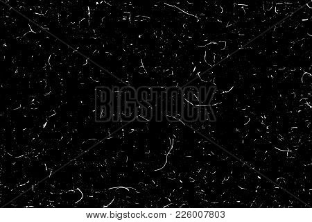 Grunge Texture Background In Black And White. Vector Illustration.