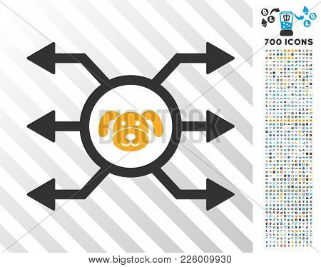 Puppycoin Node Cashout Pictograph With 7 Hundred Bonus Bitcoin Mining And Blockchain Design Elements