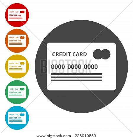 Credit Card Icon, Credit Card Business Icon, Simple Icon