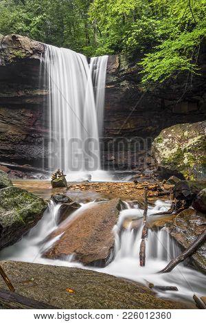 Cucumber Falls In The Laurel Highlands