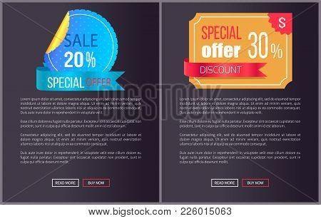 Best Product Hot Exclusive Price Web Poster With Push Buttons Read More And Buy Now. Vector Illustra
