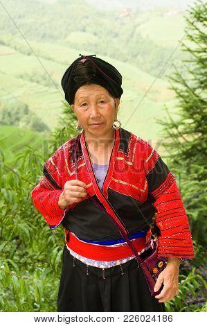 The Head Of The Family - Yao Tzu Nationality - Hereditary Rice Farmers