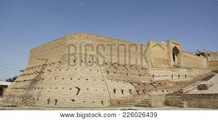 The Ancient And Beautiful Walls Of Bukhara, Uzbekistan