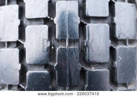The Tread Pattern Of The Tyre, The Background Texture For Any Purpose