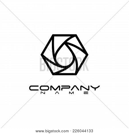 Various Hexagon - Branding Hexagon Vector Logo Concept Illustration. Hexagon Geometric Polygonal Log