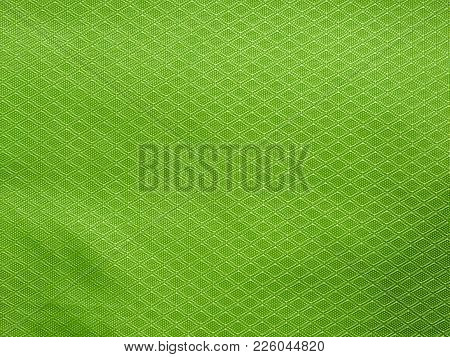 Green Cloth Texture Background For Your Design.