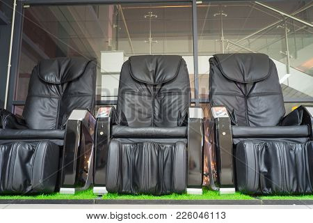 Public Leather Massage Relaxing Chair Vending Machine