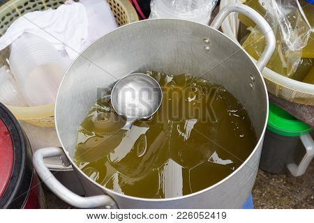 Agar Jelly, The Vietnamese Rural Food In Countryside