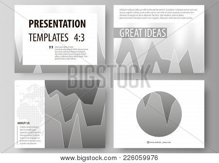 The Minimalistic Abstract Vector Illustration Of The Editable Layout Of The Presentation Slides Desi