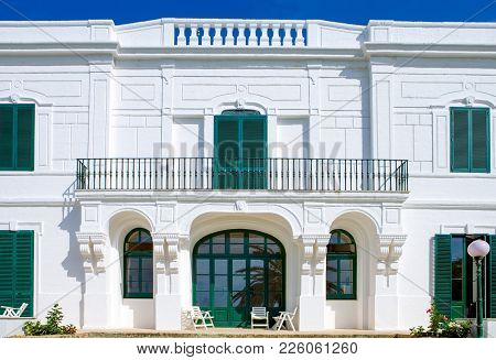 Santa Maria Di Leuca, Italy, The Famous Villas Of The Nineteenth Century, On The Seafront