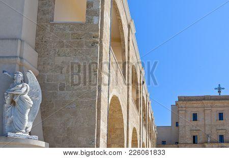 Santa Maria Di Leuca, Italy, The Sanctuary Of St. Mary Of Finibus Terrae