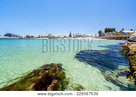 Bathers Beach Is A Popular Destination For Tourists And Locals Alike In Fremantle, Perth, Western Au
