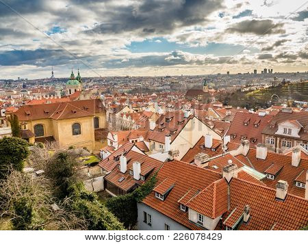 View Of Old Prague From Prague Castle