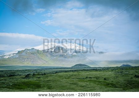 Volcano Snaefell Is The One Appearing In The Famous To The Novel Journey To The Center Of The Earth