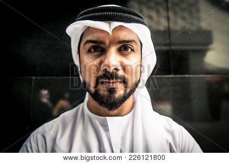 Arabian Man In The Emirates